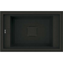 Reginox VECTOR130-B 1.0 Bowl Regi-Granite Composite Sink Metaltek Black