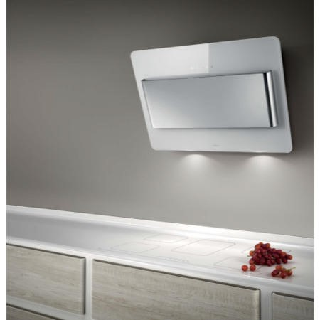 Elica VERVE80WH 80cm Vertical Decorative Cooker Hood White