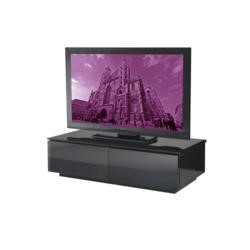 UK-CF Vienna Gloss Black TV Cabinet - Up to 42 Inch