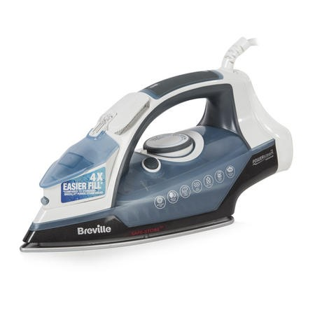 Breville VIN352 PowerSteam 2600W Iron White And Blue