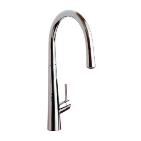 Reginox VIRAGE Single Lever Chrome Mixer Tap With Pull-out Spray And LED Lighting