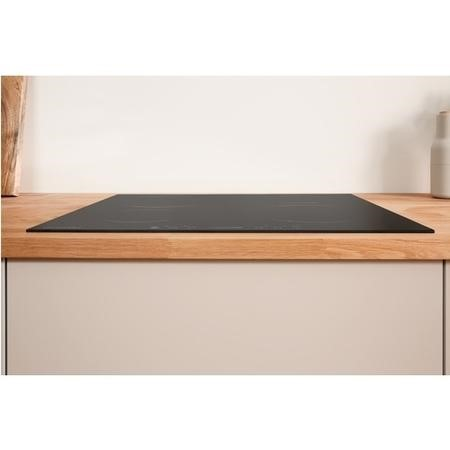 Indesit VIS640C 59cm Touch Control Four Zone Induction Hob - Black