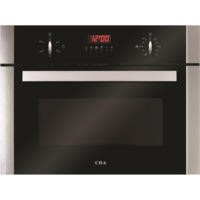 CDA VK700SS Compact Height Steam & Grill Single Oven - Stainless Steel