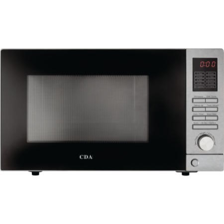 CDA VM200SS 25L 900W Freestanding Stainless Steel Microwave And Grill