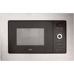 CDA VM550SS 17L 700W Slim Depth Built-in Microwave Oven Stainless Steel
