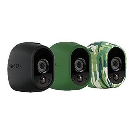 Netgear Arlo Case for Camera - Black/Green/Camouflage/UV Resistant/Water Resistant - Silicone
