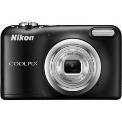 Nikon Coolpix A10 Black Camera Kit inc Luxury Leather Case and 16GB SDHC Card