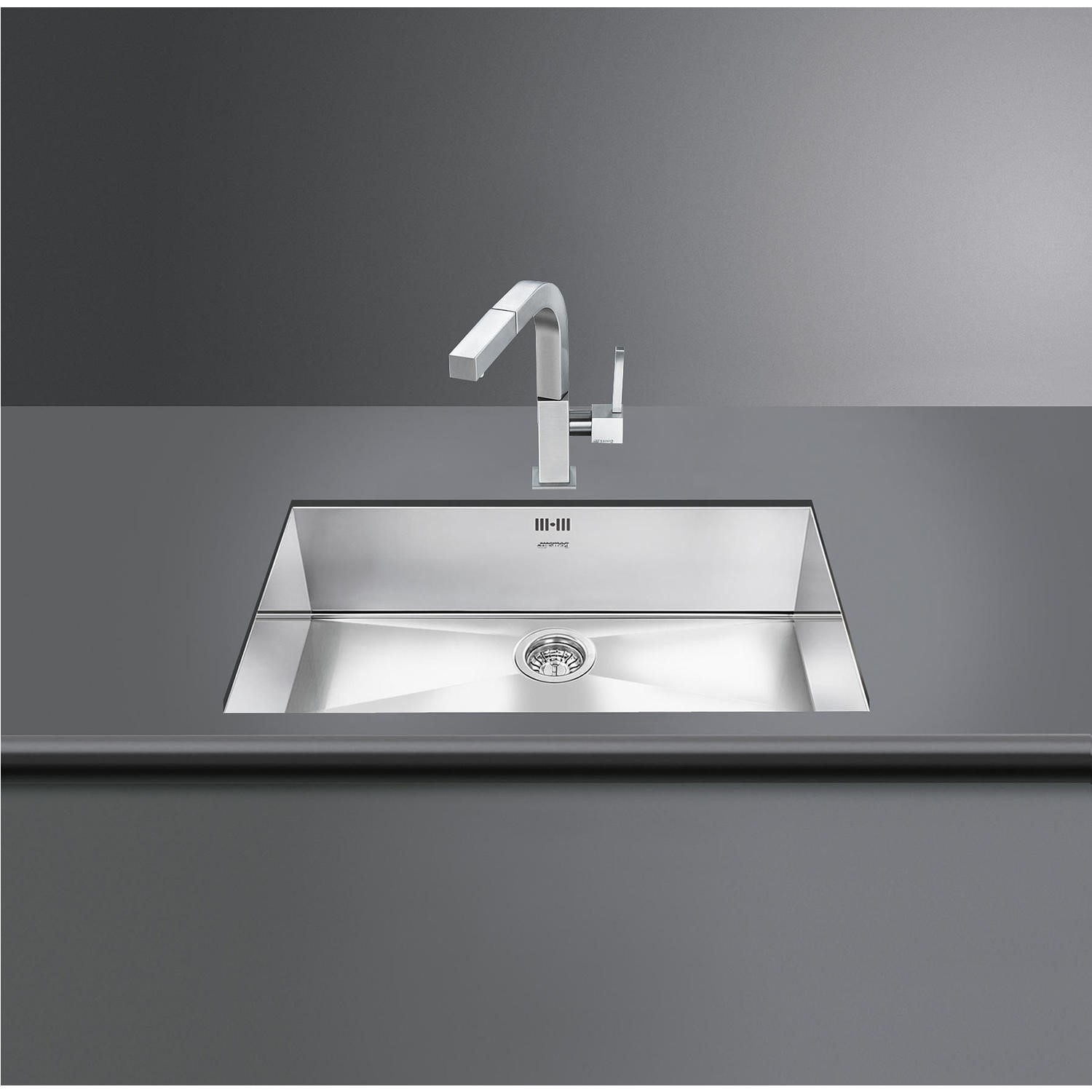 smeg vstq72 2 quadra single rectangular undermount sink appliances rh appliancesdirect co uk smeg kitchen sinks australia smeg kitchen sink prices