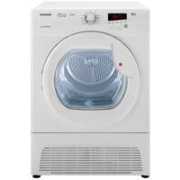GRADE A1 - Hoover VTC791NB-80 Vision HD 9kg Freestanding Condenser Tumble Dryer White