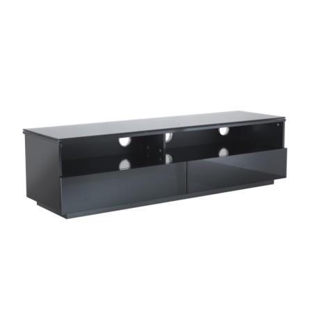 ukcf new york gloss black tv cabinet up to 55 inch fully assembled vts 0409fb appliances. Black Bedroom Furniture Sets. Home Design Ideas