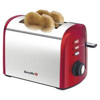Breville VTT381 Red Collection 2 Slice Toaster