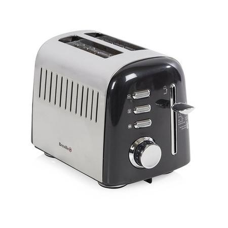 Breville VTT504 Jun14 Aurora Black 2 Slice Toaster