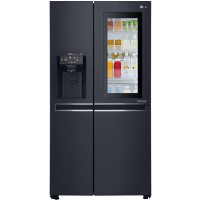 LG GSX961MCVZ InstaView Door-in-door Multi-door American Fridge Freezer With Ice & Water Dispenser - Best Price, Cheapest Prices