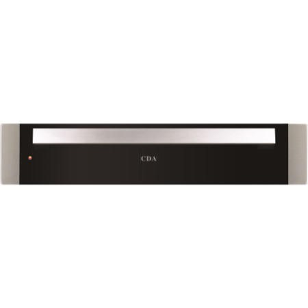 CDA VW141SS 14cm Height Warming Drawer Stainless Steel