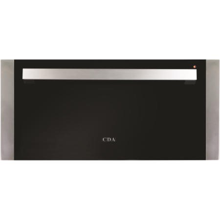 CDA VW281SS 29cm Height Warming Drawer Stainless Steel