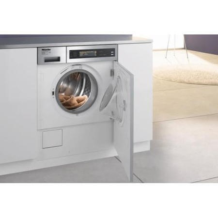 Miele W2859IWPMRSS 5kg Semi-integrated Washing Machine - Stainless Steel Control Panel