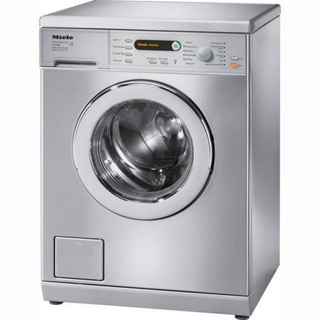 Miele W5748ss 7kg 1400 Spin Freestanding Washing Machine - Stainless Steel