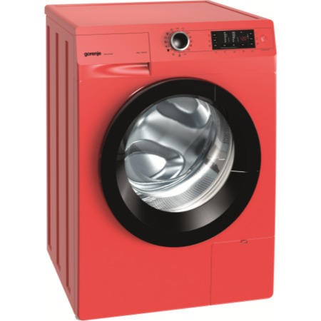 GRADE A1 - Gorenje W8543LR 460776 8 kg 1400 rpm Freestanding Washing Machine Fire Red