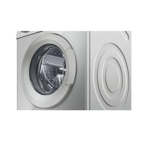 GRADE A1 - Bosch WAQ2836SGB Serie 6 VarioPerfect 8kg 1400rpm Freestanding Washing Machine - Silver-Inox