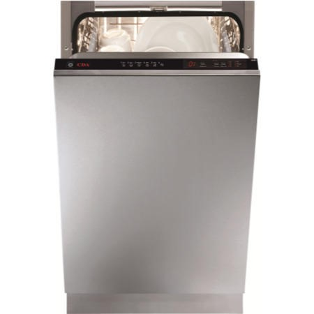CDA WC431 10 Place 45cm Slimline Fully Integrated Dishwasher