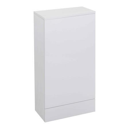 Micro White WC Toilet Unit - Without Toilet - W410 x D780mm