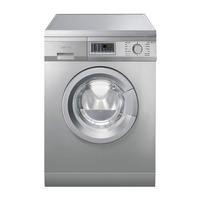 Smeg WDF147X Stainless Steel 7kg Wash And 4kg Dry Freestanding Washer Dryer