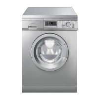 Smeg WDF147X 7kg Wash 4kg Dry 1400rpm Freestanding Washer Dryer-Stainless Steel