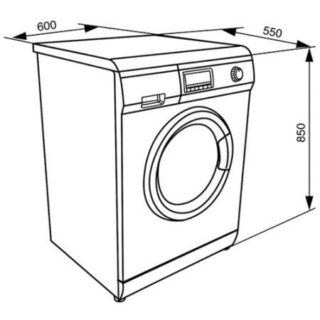 Smeg WDF147 White 7kg Wash 4kg Dry 1400rpm Freestanding Washer Dryer