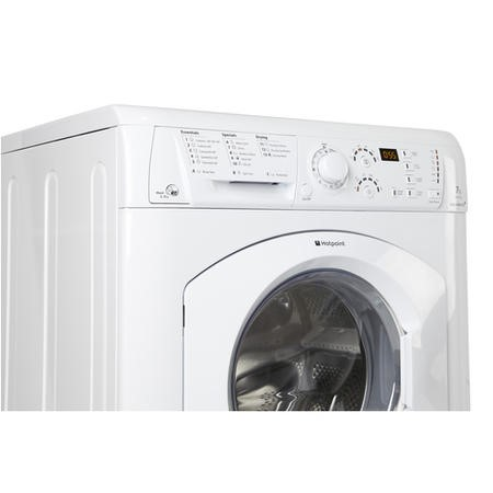 Hotpoint WDF740P 7kg Wash 5kg Dry Aquarius+ 1400rpm Freestanding Washer Dryer - Polar White