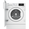 GRADE A2 - Beko WDIY854310F 1400rpm Spin Speed 8kg Wash 5kg Dry Integrated Washer Dryer - White