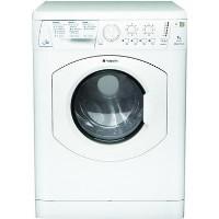 Hotpoint WDL540P Aquarius 7kg Wash 5kg Dry Freestanding Washer Dryer - White