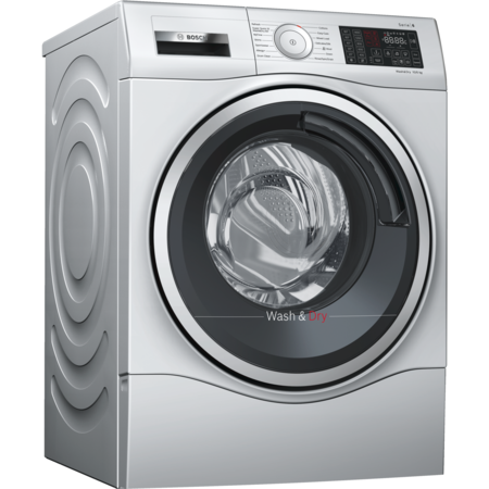 Bosch WDU28568GB 10kg Wash 6kg Dry Serie 6 Freestanding Washer Dryer - Silver