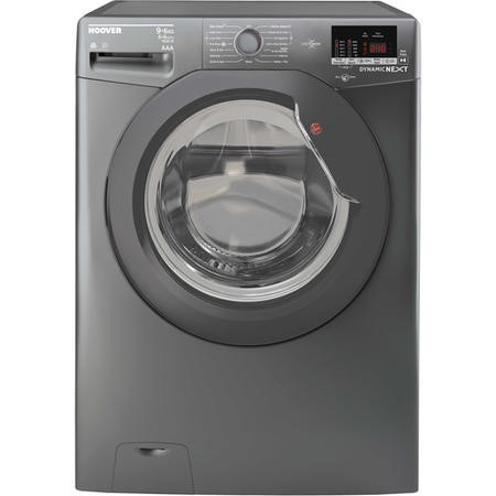 Hoover WDXOC696AGG/1-80 Dynamic Next 9 Wash 6kg Dry 1600rpm Freestanding Washer Dryer - Graphite