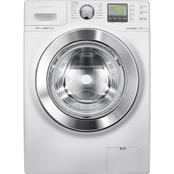 Samsung WF1114XBD EcoBubble VRT Quiet Drive 11kg 1400rpm White Freestanding  Washing Machine