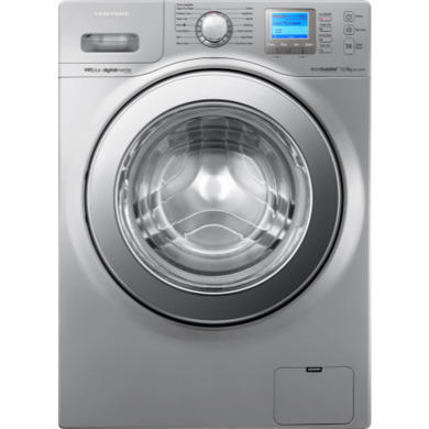Samsung WF1124XAU EcoBubble VRT Quiet Drive 12kg 1400rpm Silver  Freestanding Washing Machine 648b95ac577e