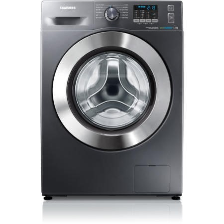 GRADE A2 - Samsung WF70F5E2W4X EcoBubble 7kg 1400rpm Freestanding Washing Machine Graphite Grey