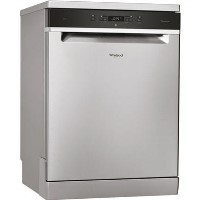 Whirlpool WFC3C24PX 14 Place Freestanding Dishwasher with Quick Wash - Stainless Steel Best Price, Cheapest Prices