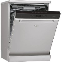 Whirlpool Supreme Clean WFO3P33DLX 14 Place Freestanding Dishwasher - Stainless Steel