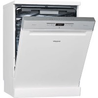 Whirlpool Supreme Clean WFO3P33DL 14 Place Freestanding Dishwasher - White Best Price, Cheapest Prices