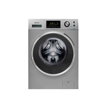 Hisense WFP8014VS Energy Efficient 8kg 1400rpm Freestanding Washing Machine - Silver