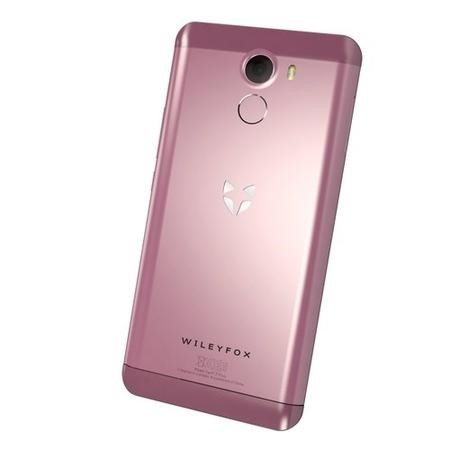 GRADE A1 - WileyFox Swift 2 Rose Pink 5 Inch 16GB 4G Dual SIM Unlocked & SIM Free