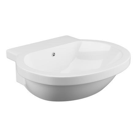 Anise Semi Recessed Sink - 1 Tap Hole