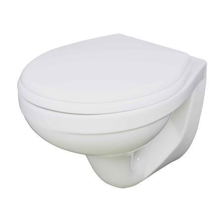 Paris Round Wall Hung Toilet with Soft Close Seat