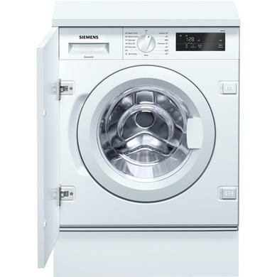 Siemens WI14W300GB iQ500 8kg 1400rpm Integrated Washing Machine -White