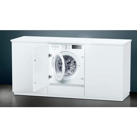 Siemens WI14W500GB 8kg 1400rpm Integrated Washing Machine - White
