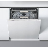Whirlpool WIO3O43DLS SupremeClean 14 Place Fully Integrated Dishwasher - White