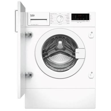 Beko WIY74545 Ultra Efficient 7kg 1400rpm Integrated Washing Machine - White