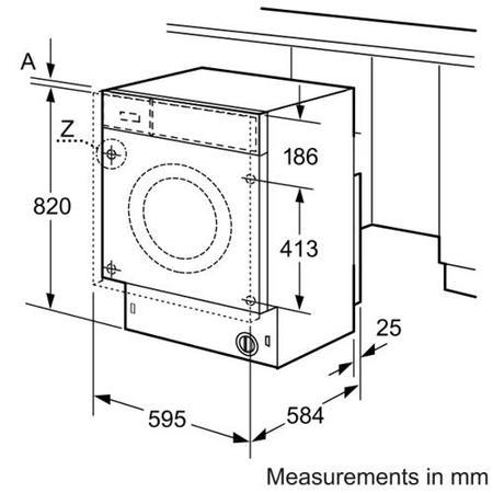 Bosch WKD28540GB Logixx Fully Automatic 4kg Integrated