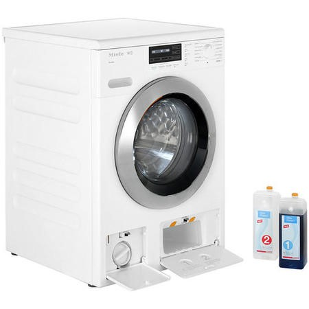 Miele WKG120 W1 ChromeEdition SoftSteam 8kg 1600rpm Freestanding Washing Machine-White