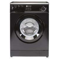 White Knight WM105VB 5kg 1000rpm Freestanding Washing Machine Black